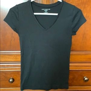 Ann Taylor Black T-shirt